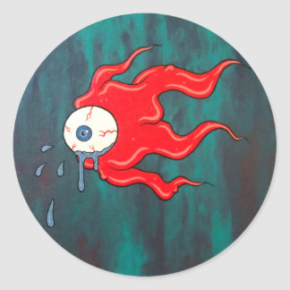 Sticker Rond Cryball