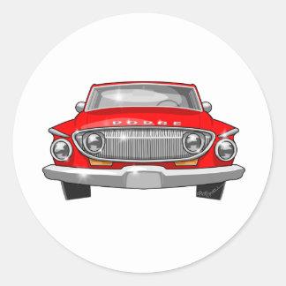 Sticker Rond Dard de 1962 Dodge