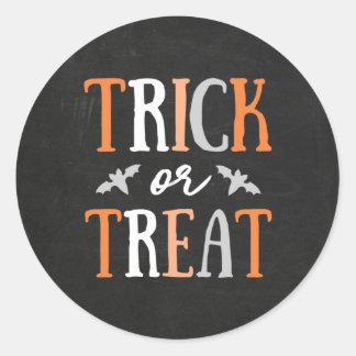 Sticker Rond Des bonbons ou un sort | Halloween