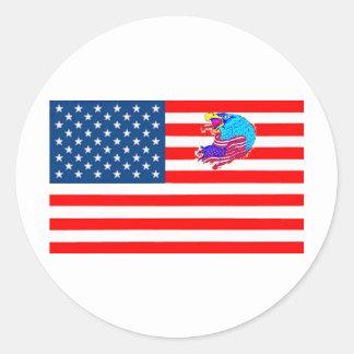 STICKER ROND DRAPEAU USA AIGLE 1.PNG