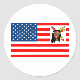 STICKER ROND DRAPEAU USA INDIENNE 1.PNG