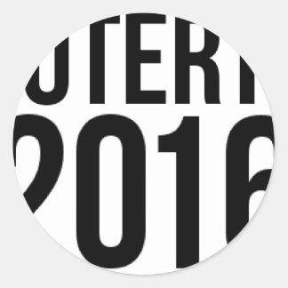 Sticker Rond Duterte 2016