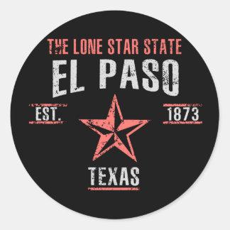 Sticker Rond El Paso