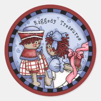 Sticker Rond et trésors d'Andy