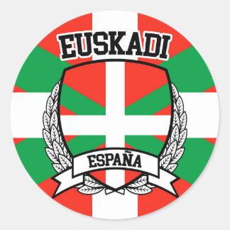 Sticker Rond Euskadi