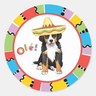Sticker Rond Fiesta Berner