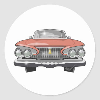 Sticker Rond Fureur 1961 de Plymouth