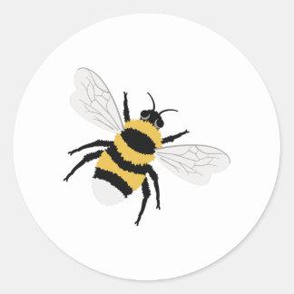 Sticker Rond Gaffez l'abeille