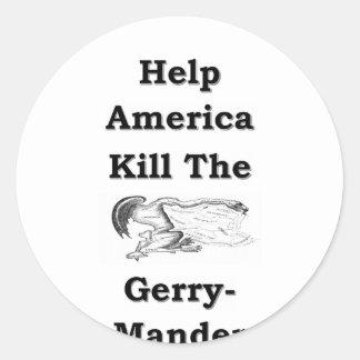 Sticker Rond Gerry