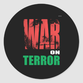 Sticker Rond Guerre contre le terrorisme