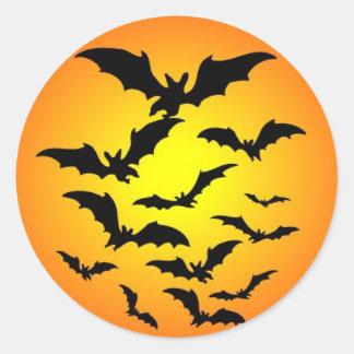 Sticker Rond Halloween