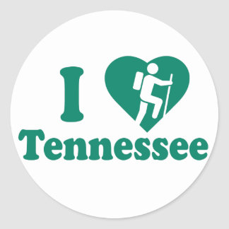 Sticker Rond Hausse Tennessee