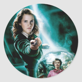 Sticker Rond Hermione Granger et professeur Umbridge