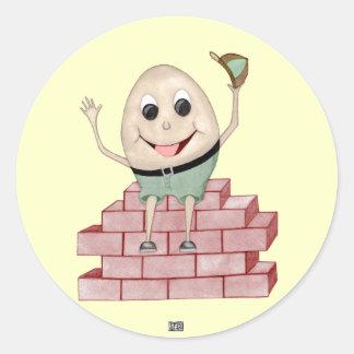 Sticker Rond Humpty Dumpty