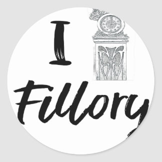 Sticker Rond I (horloge) Fillory