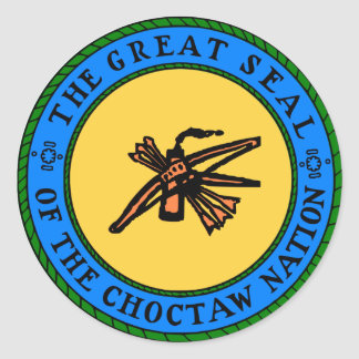 Sticker Rond Joint de Choctaw