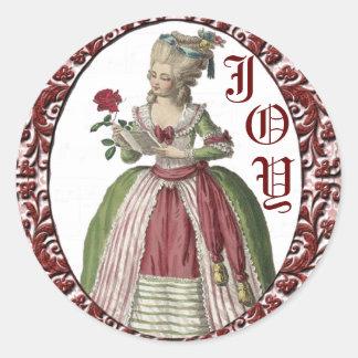 Sticker Rond Joints de vacances de Marie Anotinette
