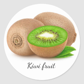 Sticker Rond Kiwis