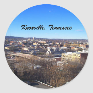 Sticker Rond Knoxville, Tennessee