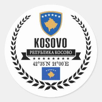 Sticker Rond Kosovo