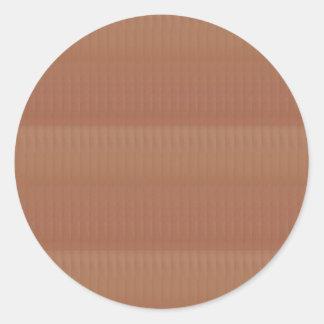 Sticker Rond La base graphique artistique de modèle de