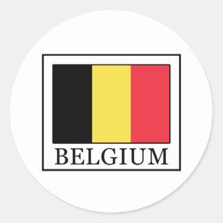 Sticker Rond La Belgique