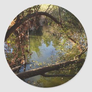 Sticker Rond Lac 4 park de canyon de Franklin