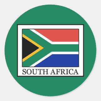 Sticker Rond L'Afrique du Sud