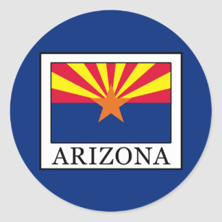 Sticker Rond L'Arizona