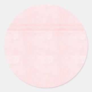 Sticker Rond Le blanc de modèle ajoutent votre cristal élégant