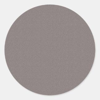 Sticker Rond Le blanc de modèle ajoutent votre gris élégant des
