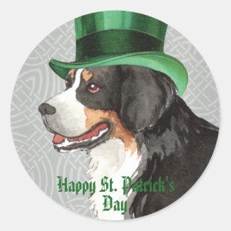 Sticker Rond Le jour Berner de St Patrick