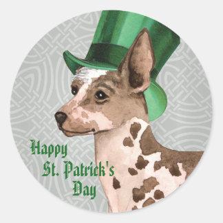 Sticker Rond Le jour Pio de St Patrick