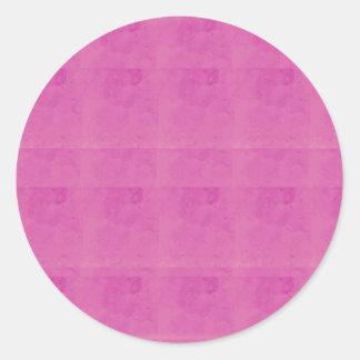 Sticker Rond Le modèle décoratif de couleur ajoutent le BLANC