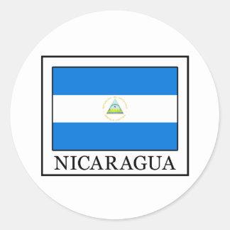 Sticker Rond Le Nicaragua