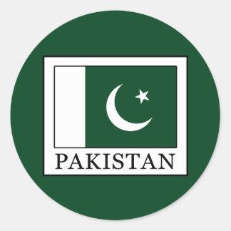 Sticker Rond Le Pakistan