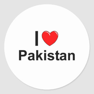 Sticker Rond Le Pakistan