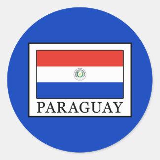 Sticker Rond Le Paraguay