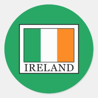 Sticker Rond L'Irlande