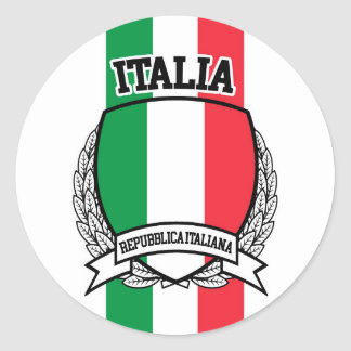 Sticker Rond L'Italie