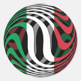 Sticker Rond L'Italie #1