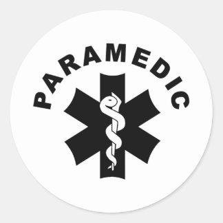Sticker Rond Logo de délivrance de l'infirmier SME