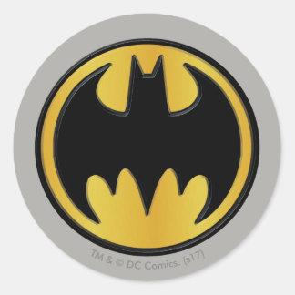 Sticker Rond Logo rond classique du symbole | de Batman