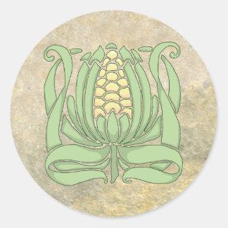 Sticker Rond Maïs de Lughnasadh