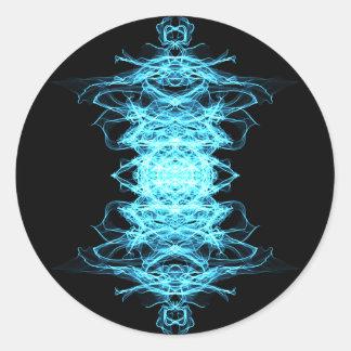 Sticker Rond Mandala d'éclairage