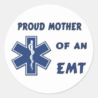 Sticker Rond Mère d'EMT