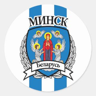Sticker Rond Minsk