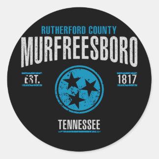 Sticker Rond Murfreesboro