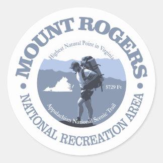 Sticker Rond NRA de Mt Rogers
