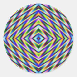 Sticker Rond Oeil de diamant